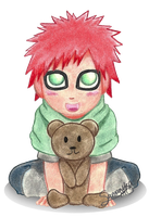 Little Gaara by Sandy--Apples