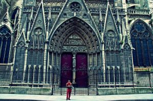 Notre Dame street ... by Clickbrush