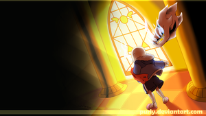 Undertale Wallpaper - Judgement Hall by Purly