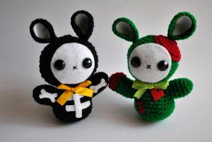 Bunny Critters by GeorgieM-onster