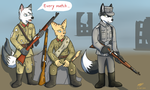 Meanwhile in Stalingrad by RoverJack