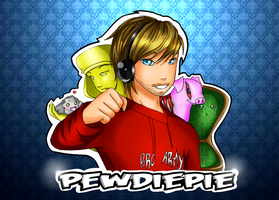 Pewdiepie by heartandbonebreaker