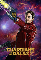 Star Lord Comic Style - Day 1 by nstens