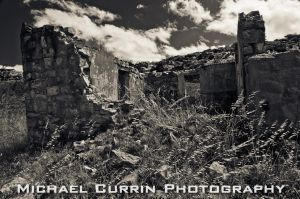 Simons Town ruins BnW by TheSoftCollision