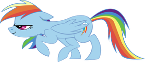 Sneaky Rainbow Dash by M4ng0s