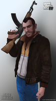 Niko Bellic Render - GTAIV by InterGlobalFilms