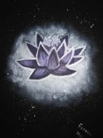 Lotus in the dark by feeora