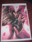 Gambit Canvas by SparrowsFlame