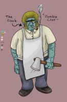 Zombie Chef by dawgmastas