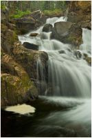 Libby Creek Falls 2 by wyorev