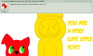 Question 40 - Flame the Fox! by Ask--Stephano