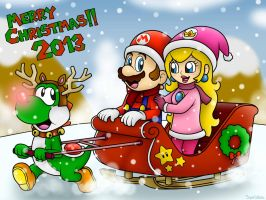 Merry Christmas 2013!!....Again! xD by SuperLakitu