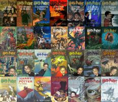 Harry Potter Covers 3 by Kid-Bob