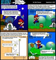 Super Paper Talking and mario by Taiosun