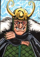 Loki sketch card by The-Standard