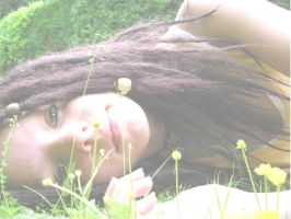 laying in the grass by purple---haze