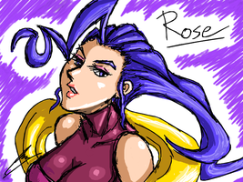 Rose Street Fighter by borockman