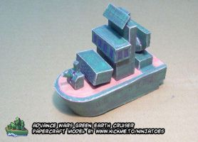 Green Earth Cruiser papercraft by ninjatoespapercraft