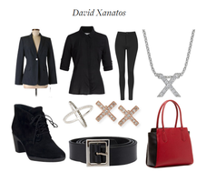 Fashion Base: David Xanatos by SarahGoodwill