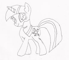 Quick Trace of Twilight Sparkle by dantheman007a