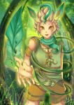 -- Collab Pokemon Gijinka : Leafeon -- by Kurama-chan