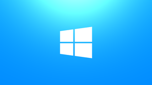 Windows 8 Wallpaper - Simple Blue by Fuller1754