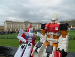 Being At Buckingham Palace by preceptorexe