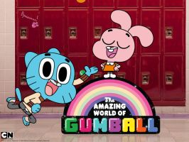 gumball and anais by flippy35
