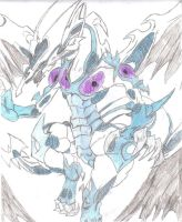 Stardust Dragon Drawing by duelistshdow123