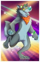 Dance Wolf by marymouse