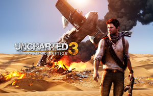 Uncharted 3 Wallpaper by CrossDominatriX5