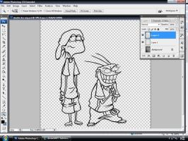 Edd n Eddy... W.I.P. by little-ampharos