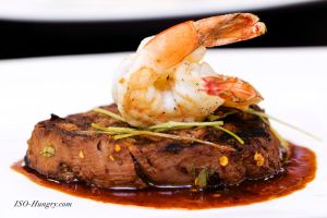 Jerk Steak and Shrimp by isohungry