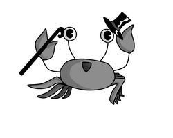 Tap Dancing Crab by BETGOLD