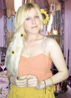 Luna Lovegood Cosplay Bill  and Fleurs wedding by MissWeirdCat