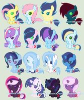 Shipping Foal Adopts~ [closed] by UnicornsCreate