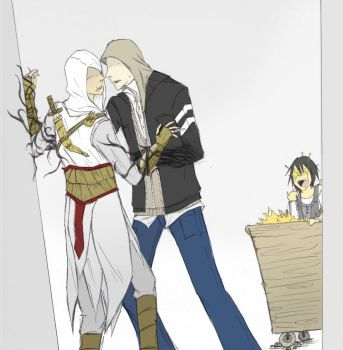 Alex X Altair -BL warning- by pinappleapple