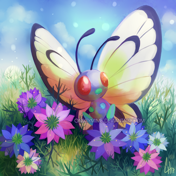 012 - Butterfree by OnixTymime