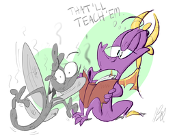 A Dragon's Hobby by dogatemyshrooms