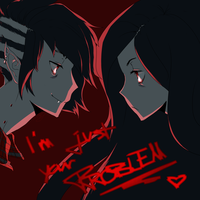 Marceline/Marshall Lee - I'm Just Your Problem by MsJosephine