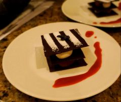 Little chocolate stacked dessert by Sydney0007