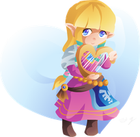 Zelda Valentine by Lady-of-Link