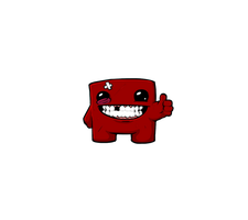 Super Meat Boy (Render) by Apexx-iPredator