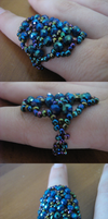 Blue Candy Ring by SunshineEmily