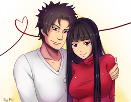 SC: Juro and Yoko by Fimii