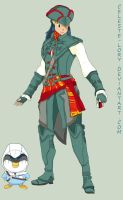 Pokemon meets Assassin's Creed by Celeste-Lory