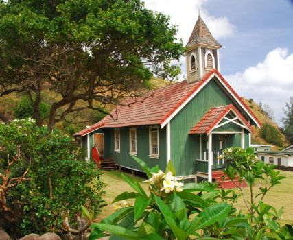 Green Church 10723316 by StockProject1