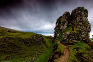 Climb into the stronghold by LordLJCornellPhotos