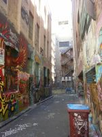 Melbourne Alley by RiseToTheWake