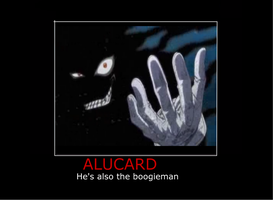 Alucard Motivational Poster by Bojaking